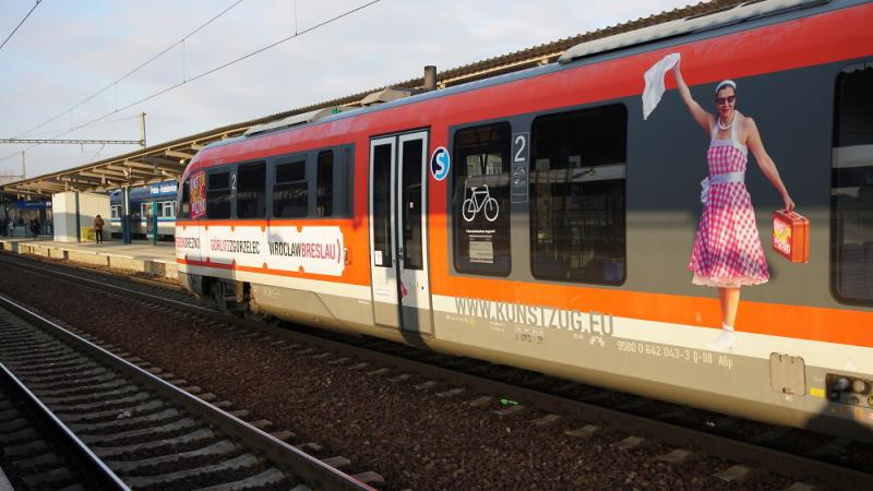 Moderní nízkopodlažní vlaky Siemens Desiro