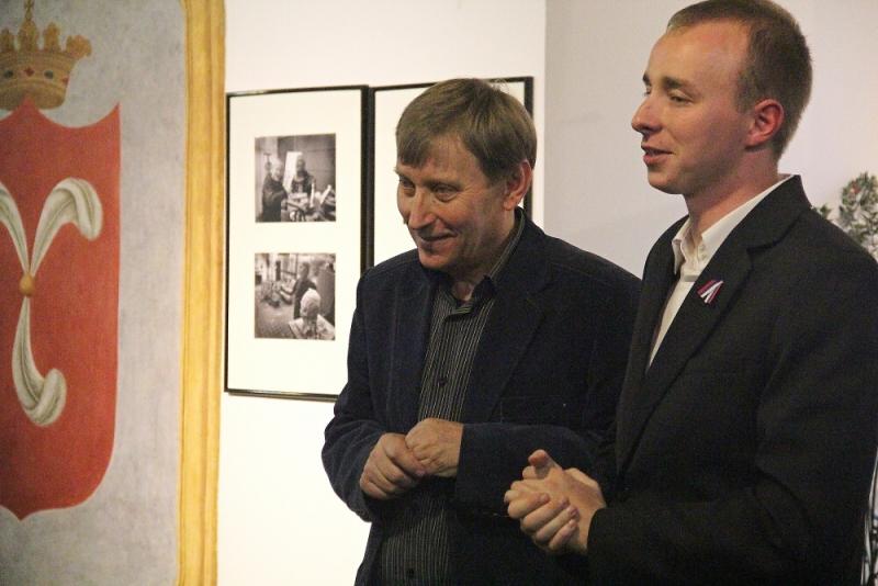 Fotografie z vernisáže výstavy Krkonošského muzea Velká válka
