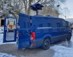 Nová vozidla s mobilní termovizí určená prioritně ke střežení státní hranice