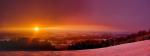 Západ slunce z Kozákova