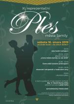 Pozvánka na ples města Semily