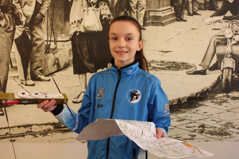 Nadaná turnovská orientační běžkyně Michaela Novotná