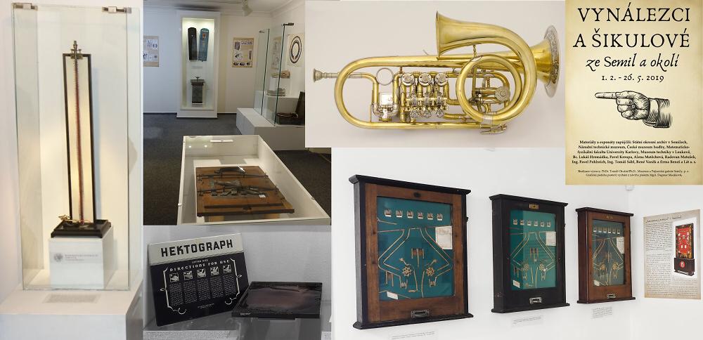 Výstava Vynálezci a šikulové v semilském muzeu<br />Autor: Archiv Muzea a Pojizerské galerie Semily