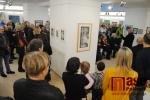 Vernisáž výstavy Obrazy/ grafika Luboše Bucka v semilském muzeu