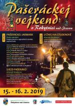 Plakát Pašeráckej vejkend v Rokytnici 2019