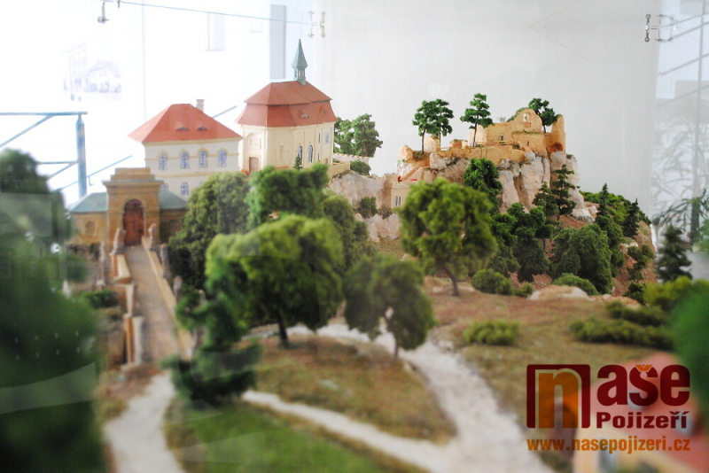 Model hradu Valdštejn, jehož autorem je Ladislav Koucký<br />Autor: Petr Ježek