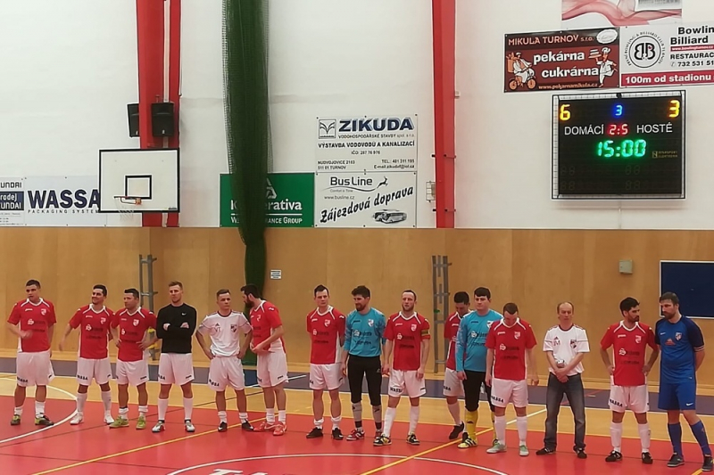 TJ FC Dalmach Turnov po vítězství v divizi A<br />Autor: Lenka Menclová
