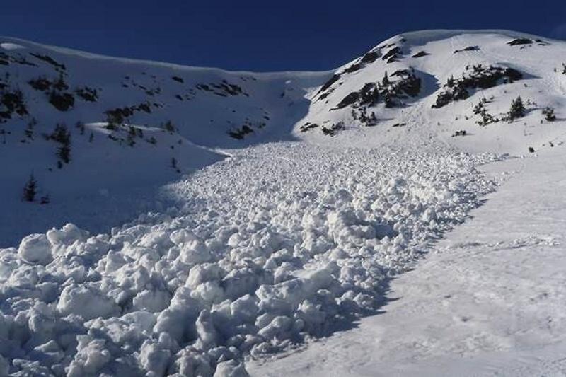 Lavina spadla v západní části Krkonoš<br />Autor: Archiv Horská služba Krkonoše
