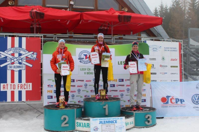 Medailistky závodu žen