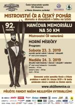 Plakát Hančův memoriál 2019