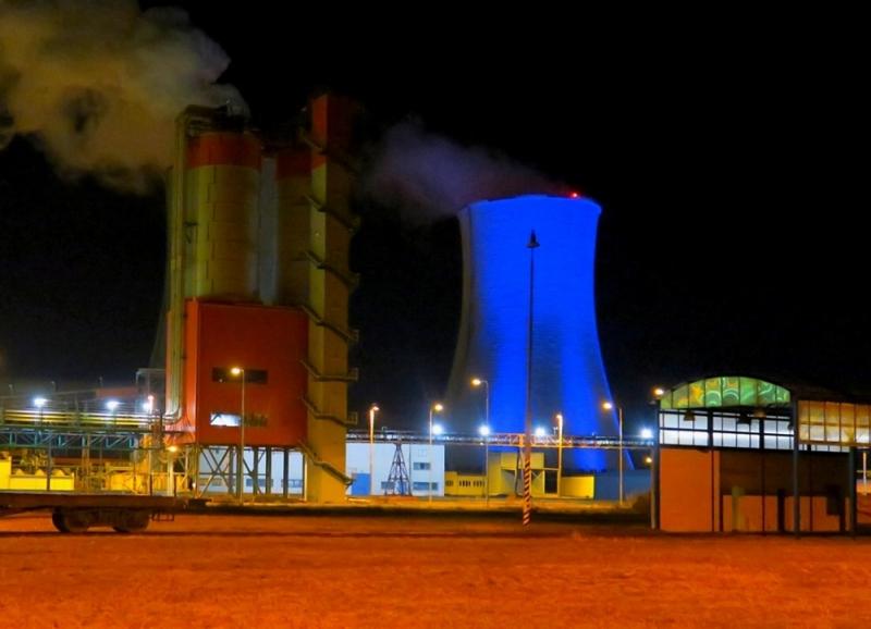 Chladící věž elektrárny Tušimice<br />Autor: Archiv ČEZ