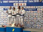 Na turnaji v ruské Tule bronzová judistka Julie Zárybnická