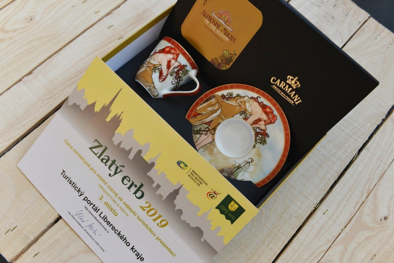 Zlatý erb pro Liberecký kraj<br />Autor: Archiv KÚ Libereckého kraje