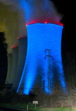 Elektrárna Tušimice - chladící věž