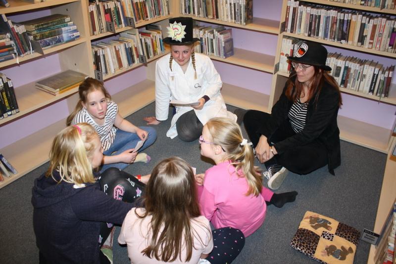 Noc s Andersenem v semilské knihovně<br />Autor: Archiv Městská knihovna Semily