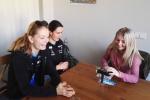 Rychlobruslařky Martina Sáblíková a Nikola Zdráhalová zavítaly do Domova sv. Josefa v Žírči u Dvora Králové