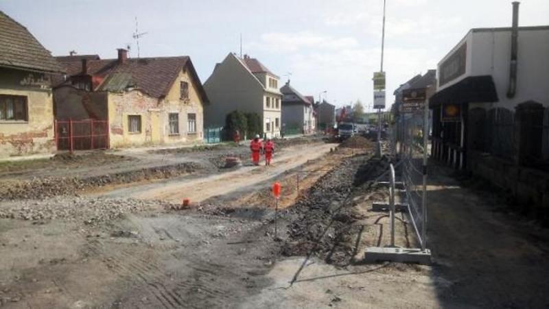 Rekontrukce ulice Nádražní a silnice II/610v Turnově