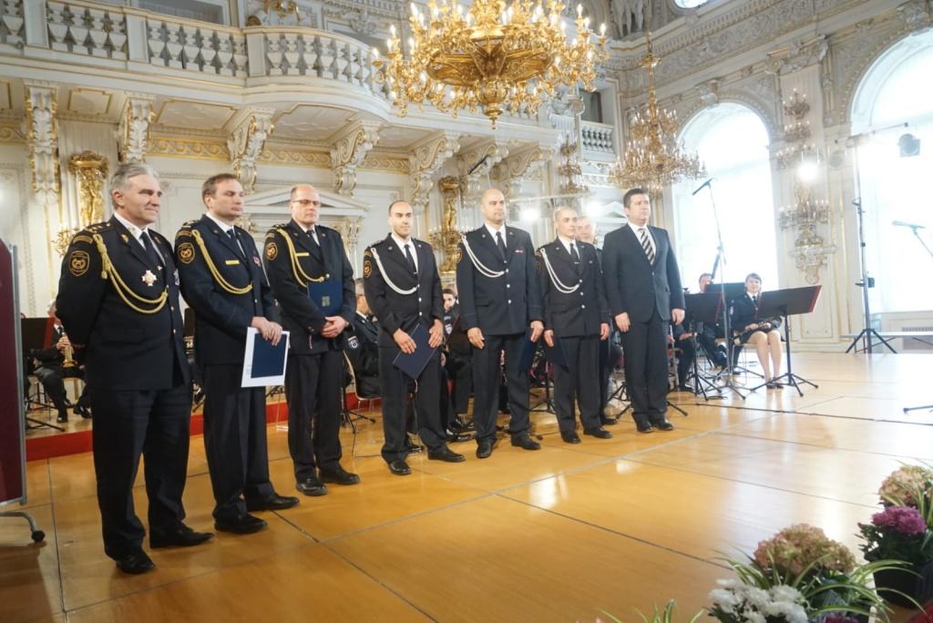 Slavnostní vyhlášení ankety Hasič roku<br />Autor: HZS Libereckého kraje