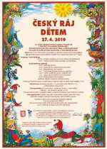 Plakát akce Český ráj dětem 2019