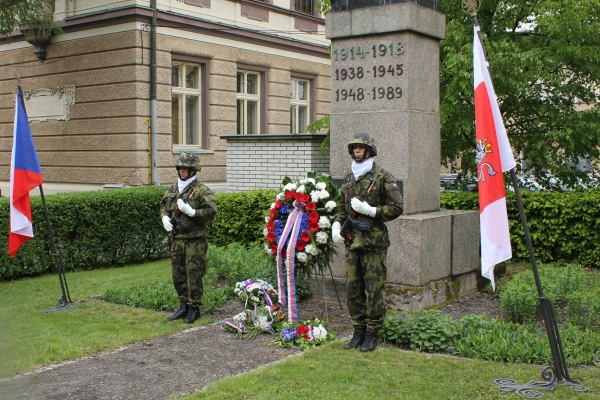 Oslavy 74. výročí konce druhé světové války v Turnově<br />Autor: Zdenka Štrauchová