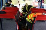Prověřovací cvičení hasičů v Peřimově u Semil