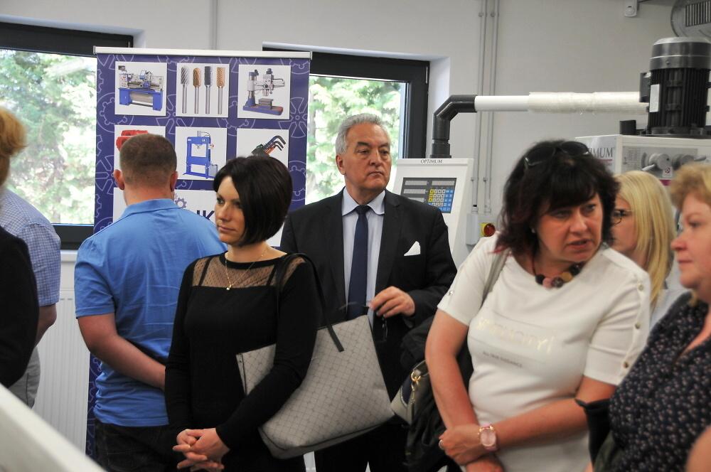 Slavnostní otevření Centra odborného vzdělávání v Turnově<br />Autor: Archiv KÚ Libereckého kraje