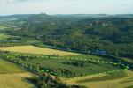 Letecký pohled na lokalitu