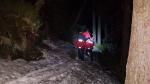 Záchrana vyčerpané dívky z cesty mezi Luční boudou a boudou U Bílého Labe