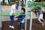 Otevření workoutového hřiště na atletickém stadionu Ludvíka Daňka v Turnově