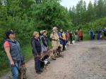Kynologové HZS Libereckého kraje na závodě v Pardubicích