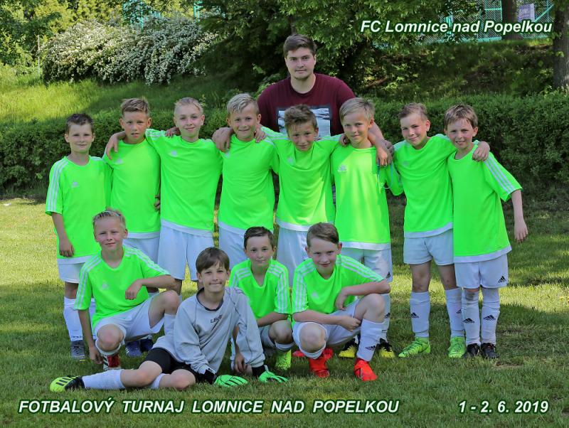 Domácí tým FC Lomnice nad Popelkou