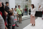 Žáci turnovských škol při návštěvě radnice