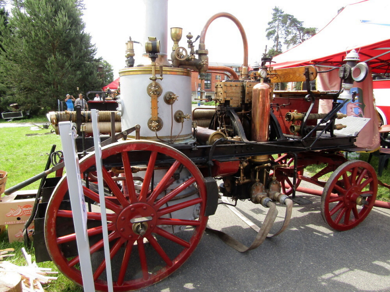 SDH Semily I na VII. ročníku celorepublikové soutěže historických hasičských parních stříkaček