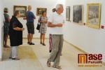 Vernisáž výstavy Obrazy Kooperativy v semilském muzeu