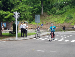 Krajské finále dopravní soutěže cyklistů