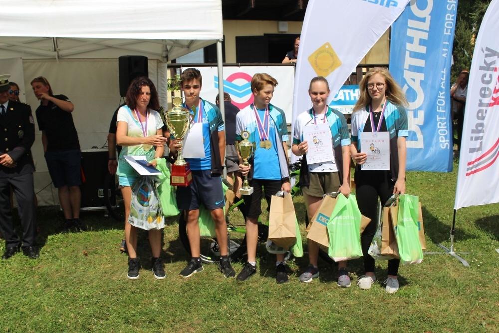 Celorepublikové finále dopravní soutěže cyklistů<br />Autor: Archiv KÚ Libereckého kraje
