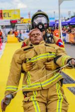 Jan Pipiš na závodech FireFit v německém Rodgau
