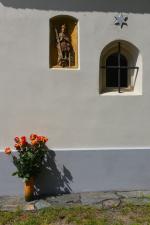 Kaplička ve Volavci při svěcení