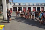 Den s hasiči na stanicích HZS LK pro sedmáky ze tří základních škol