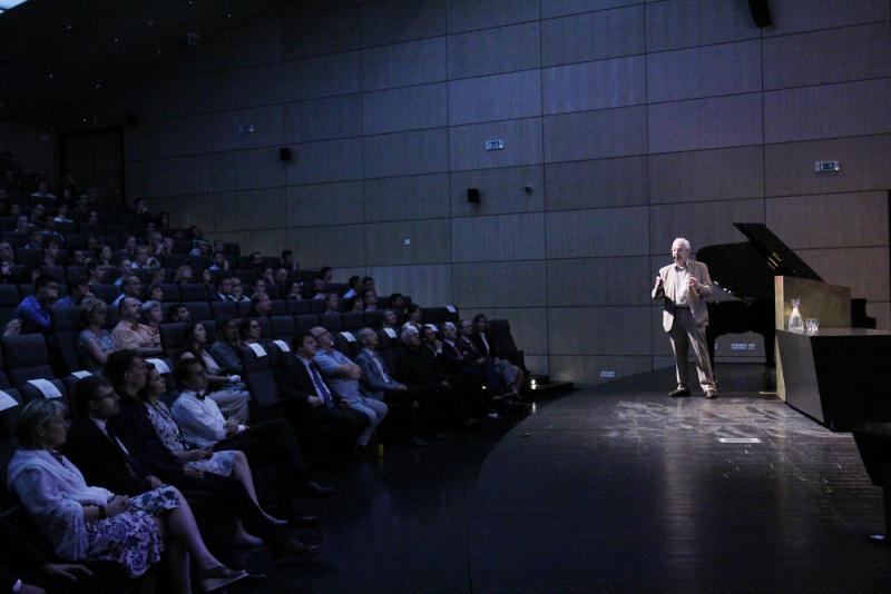 Nobelista Lehn přednáší na TUL<br />Autor: Archiv Technická univerzita Liberec