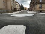 Nová kruhová křižovatka v Jilemnici