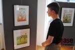 Výstava Iva Hüttnerová - Obrázky na lomnickém zámku