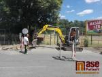 Obrazem: V Semilech aktuálně opravují hned několik chodníků
