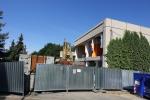 Budova bývalého kina Bio Ráj mizí z Žižkovy ulice