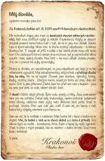 Otevřený dopis Krakonoše