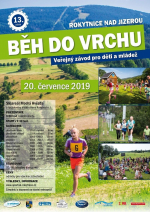 Plakát - Běh do vrchu z Rokytnice pro veřejnost