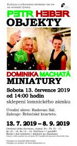 Výstava Petr Heber a Dominika Machatá - Objekty a miniatury ve sklepení lomnického zámku