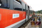 Vlak Siemens Desiro společnosti Arriva na semilském nádraží