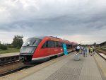 Vlak Siemens Desiro společnosti Arriva na trase Praha - Stará Paka - Liberec