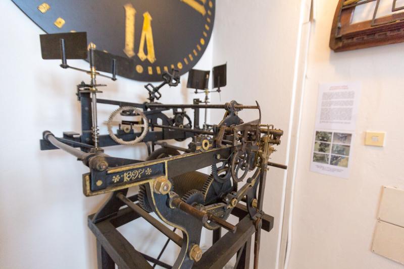 Původní hodinový stroj z muzejní věže<br />Autor: Archiv KÚ Libereckého kraje
